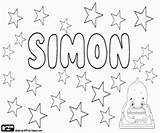 Languages Simon Many sketch template