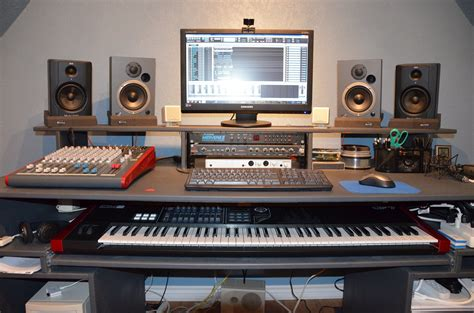 Home Recording Studio Techniques by Pin By Eyal Richter On Recording Studio Desk Recording