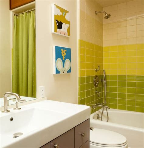lime green bathroom tiles ideas  pictures