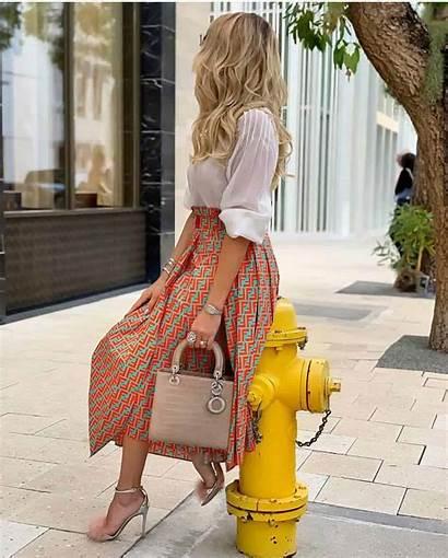 Skirts Faldas Trends Primavera Moda Midi Tendencias