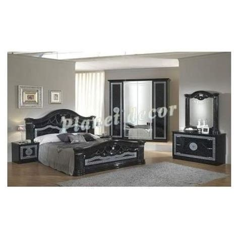 model chambre gallery of chambre coucher model serena noir armoire