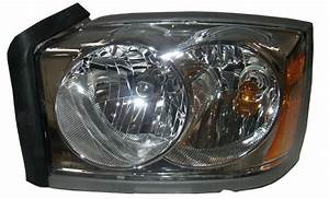 New Replacement Chrome Headlight Assembly Lh    For 2005