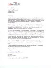 Sample Testimonial Letter