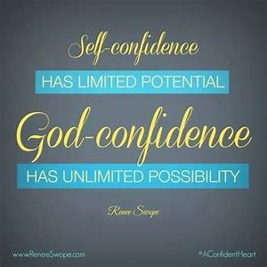 God=confidence ... God And Confidence Quotes