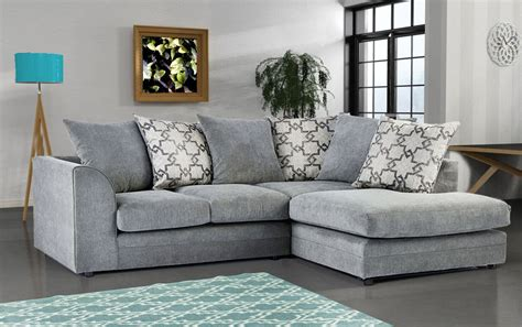 carlos fabric corner sofa grey high quality cheap sofas