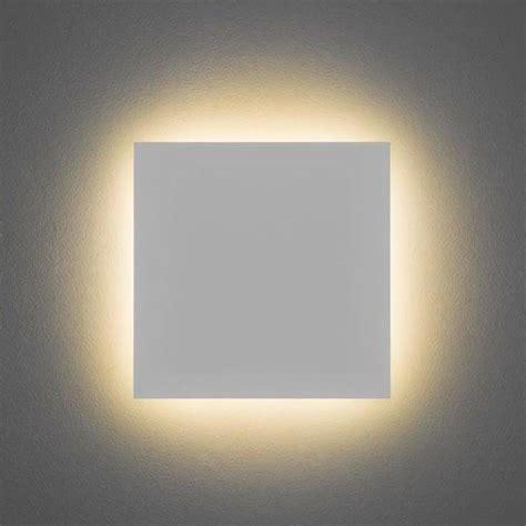 minimalist wall light astro lighting eclipse square 300 modern minimalist led