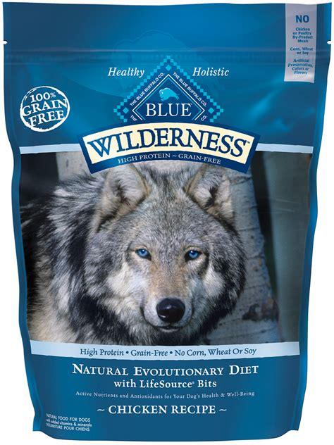 blue buffalo wilderness dry dog food grain  chicken