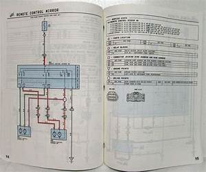 1997 Toyota Previa Electrical Wiring Diagram Manual Us