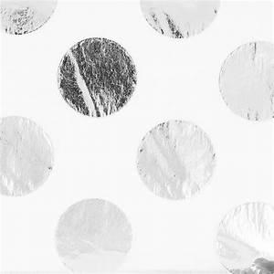 Papier De Soie Blanc : papier de soie pois paper poetry 50x70cm blanc silver x2 ~ Farleysfitness.com Idées de Décoration