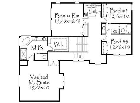 world european   shape ms  floor master suite bonus room cad