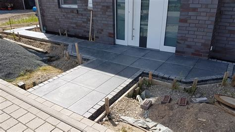 Verlegen Terrassenplatten by Terrassensteine Verlegen Wie Sie Terrassenplatten Aus