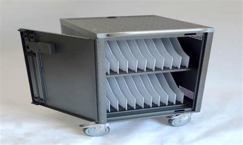 Laptop cabinet, secure laptop storage cabinet computer