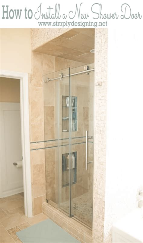 how to hang a door how to install a new shower door