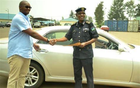 rwanda stolen vehicle returned to owner