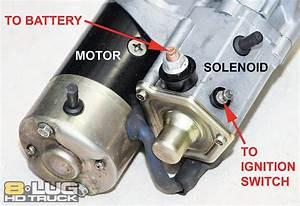 Starter Solenoid Repair - Copper Solenoid Contacts