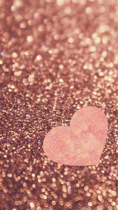 Rose Gold Glitter Wallpapers Android Iphone Background