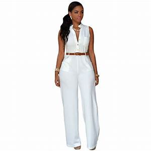 Popular White Pant Jumpsuit-Buy Cheap White Pant Jumpsuit ...