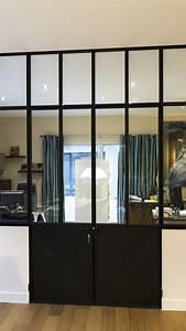 Porte De Placard Style Verriere : garde corps escalier design et verri re sur mesure en normandie divinox ~ Nature-et-papiers.com Idées de Décoration