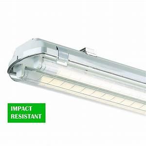 Envirolite ft led vapor tight ceiling mount strip light