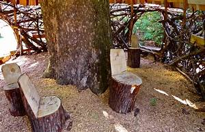 Stump Decorating Tree Stump Ideas For Furniture And