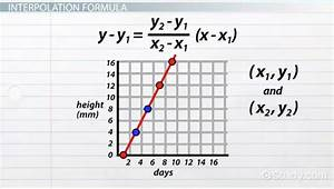excel interpolation function interpolation of values in With definition function diagram video lesson transcript studycom