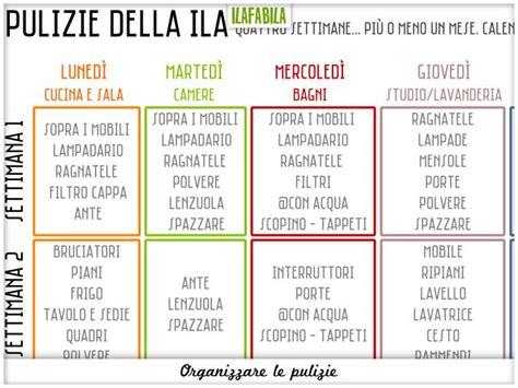 Come Organizzare Le Pulizie Di Casa Giornaliere by Ilafabila Apuanamente Toscana Organizzazione Casa