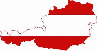 Austrian Flag Austria Map Antisemitism Working