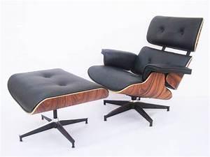 Fauteuil Charles Eames : le confort d 39 un fauteuil lounge eames famous design ~ Melissatoandfro.com Idées de Décoration