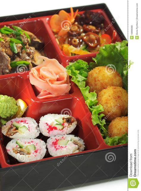 bento japanese cuisine japanese cuisine bento lunch royalty free stock photos image 10896568