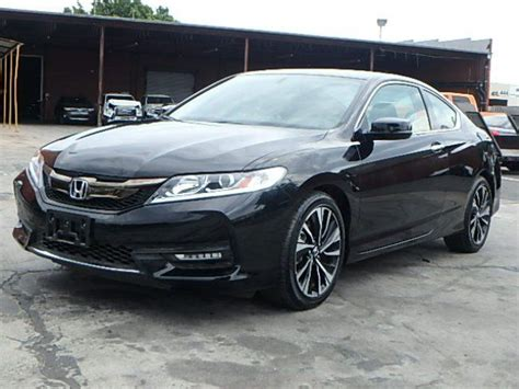 2017 Honda Accord Ex L by Loaded 2017 Honda Accord Ex L Coupe Repairable For Sale