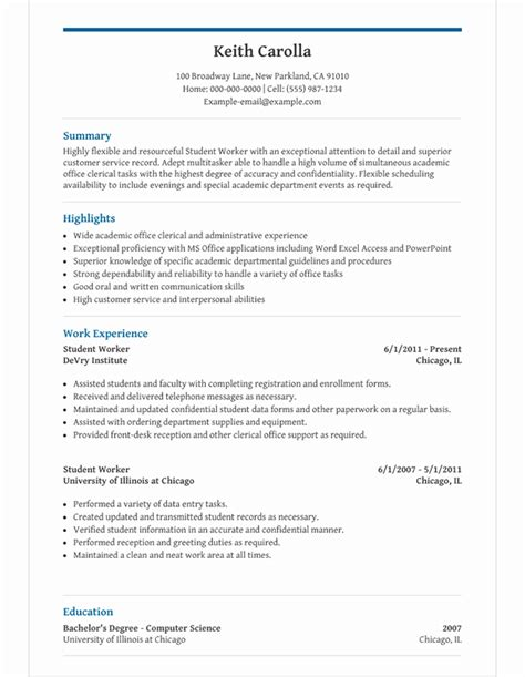 image result  high school student resume high school