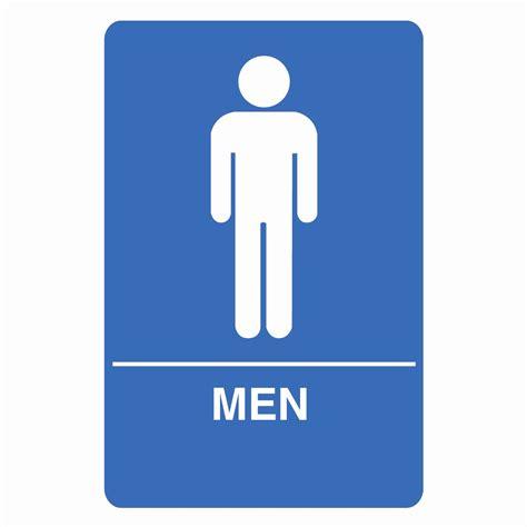 palmer fixture is1001 1 b ada compliant restroom sign