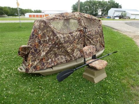 Duck Hunting Boats For Sale Mn by Duck Boat Blind System Ncs Rv Liquidation Hunting