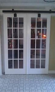 french barn door design and ideas With barn door style french doors