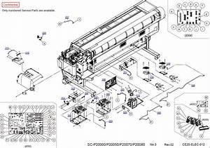 Epson Surecolor P20000 P20050 P20070 Parts Manual