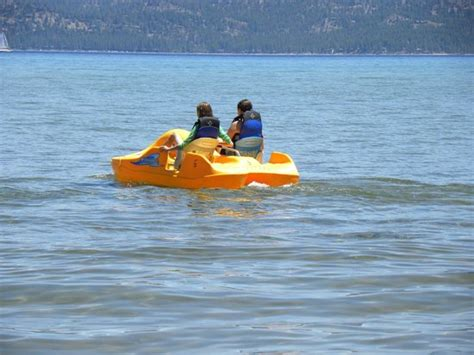 Lake Tahoe Paddle Boat Rentals by Paddle Boats For Rent Picture Of Pope South Lake