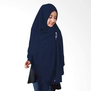 Jual Milyarda Hijab Oki Panjang Kerudung Syaru0026#39;i - Biru Dongker Online - Harga u0026 Kualitas ...