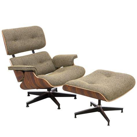 modern plywood zane lounge chair ottoman with palisander