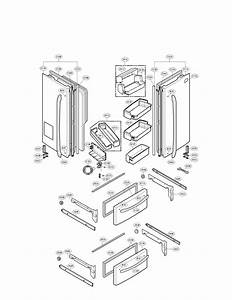 Lg Refrigerator Replacement Parts
