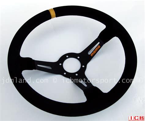 momo volanti momo volanti mod 08 dished 350mm suede steering wheel