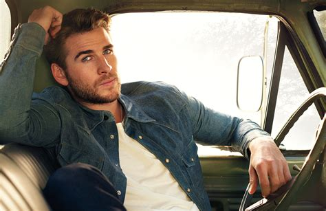 liam hemsworth covers legend talks independence day