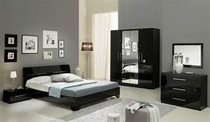 Chevet 1 tiroir gloria noir for Chambre a coucher adulte avec acheter matelas memoire de forme