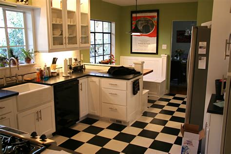 white kitchen flooring ideas black and white kitchen floor ideas info home and