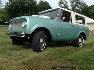 1965 Scout 800 Rare
