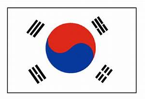 Image Gallery korean flags