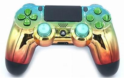 Controller Playstation Rainbow Modded Version V2 Ps4