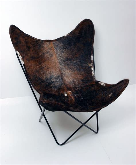 Cowhide Leather Chair by Classic Cover Cowhide Leather Bkf Butterfly Chair Only