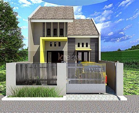 desain rumah minimalis  lantai bentuk   update