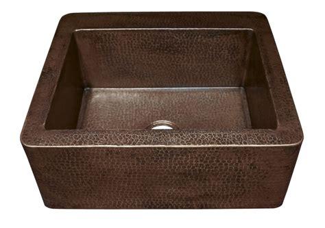bronze kitchen sinks antique copper apron front kitchen sink uvntcps270 1819