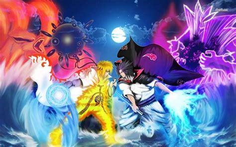 Gambar Anime Naruto Keren Hd 25 Wallpaper Gambar Foto Sasuke Dan Naruto Aktual Id